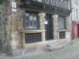Rez-de-chaussée © Maison dite de la duchesse Anne - Morlaix - Tous droits réservés